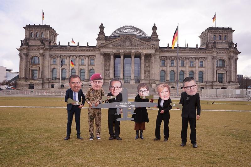 Abstimmung über die weitere Entwicklung der Eurodrohne